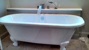 Bath Tub Installation